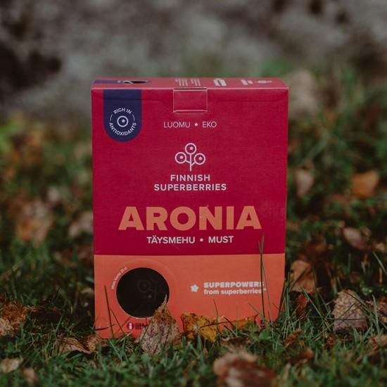 Finnish organic Aronia juice nature