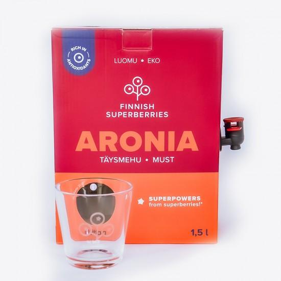Finnish organic Aronia juice valve