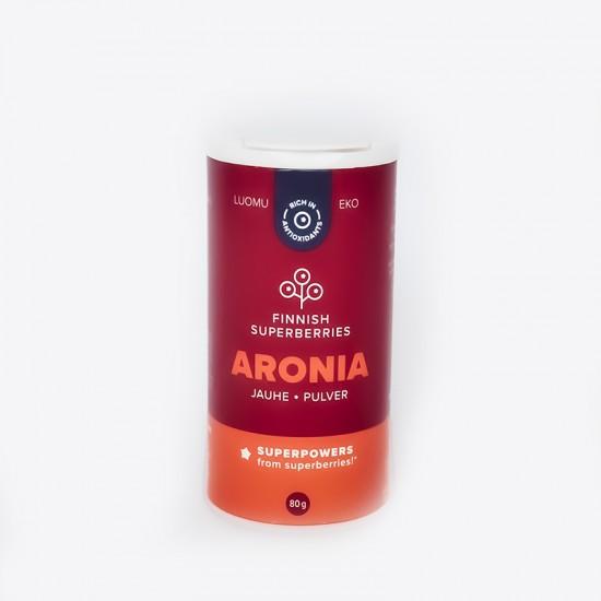 Finnish organic Aronia powder front